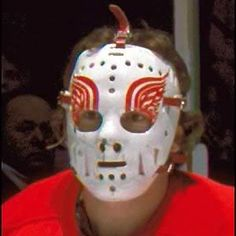 Jim Rutherford Hockey Games, Hockey Players, Ice Hockey, Jim Rutherford, Goalie Mask, Best Masks, Detroit Red Wings, Pittsburgh Penguins, Nhl