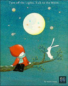 (A Través de De Stoop de Naoko: Apaga la luz, Habla Con La Luna!)