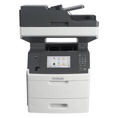 Lexmark Laser Multifunction Printer - Monochrome - Plain Paper Print - Desktop - Copier/Fax/Printer/Scanner - 60 ppm Mono Print - 1200 x 1200 dpi Print - Automatic Duplex Print - 60 cpm Mono Copy - LCD Touchscreen - 600 dpi Optical Scan - 650 s Printer Scanner, Inkjet Printer, Laser Printer, Printer Price, Printers On Sale, Fast Print, Multifunction Printer, Printer Supplies, Toner Cartridge