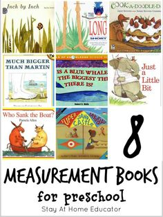 How great are these picture books about measurement?!