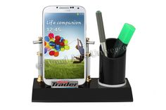 #DesktopCellPhone and #PenHolder WAUPC221http://woodartsuniverse.com/catalog/product_info.php?cPath=26&products_id=409