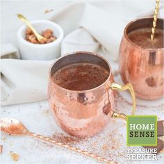 """625 Likes, 9 Comments - Homesense (@homesense_ukie) on Instagram: """"Treasure Seeker @nikki.labellevie creates the perfect winter warmer with these gorgeous copper mule…"""""""