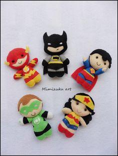 Banner superhéroes Batman Superman Wonderwoman Linterna