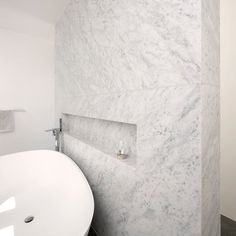 Natural Stone Bathroom, Natural Stones, Bathroom Cost, White Marble Bathrooms, Carrara Marble, Bathroom Interior Design, Design Projects, Instagram