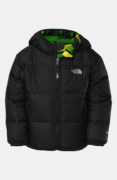 The North Face 'Moondoggy' Reversible Quilted Down Jacket (Toddler Boys) available at #Nordstrom