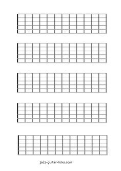 Bewitching image with regard to guitar fretboard diagram printable