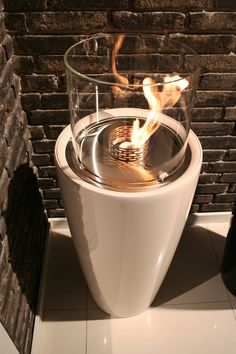 Nice from @DecoflameApsDk. Fireplace, bioethanol, pejse