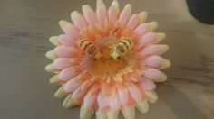 Bees flower clip