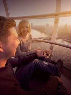 Try one of our experiences on the Coca-Cola London Eye