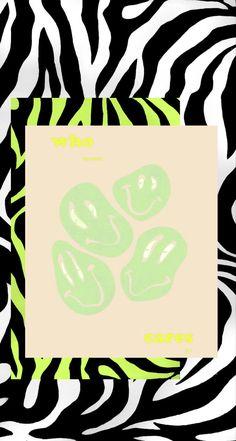 Zebra Wallpaper, Hippie Wallpaper, Pattern Wallpaper, Aesthetic Desktop Wallpaper, All Pictures, Neon Green, Screens, Art Inspo, Overlays