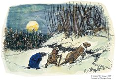 The Wild Wood by Shepard for Wind in the Willows