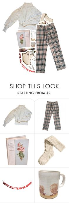 """another late night"" by idk-its-just-me ❤ liked on Polyvore featuring American Apparel, Burberry, H&M, Andy Warhol and WALL"