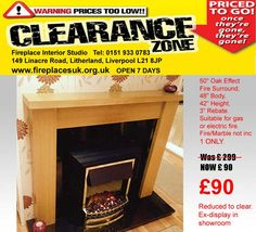 Wood Mantel £90 1 only