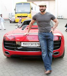 Saif Ali Khan promoting his film 'Happy Ending'. #Bollywood #Fashion #Style #Beauty
