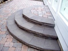 Great shape on these steps..