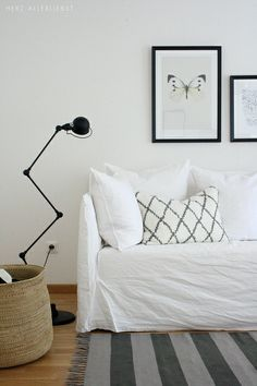 New sofa by herz-allerliebst, via Flickr