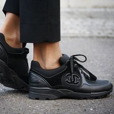 Chanel sneakers by @jdfashionfreak