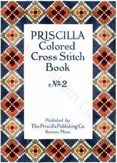 Priscilla Cross Stitch Book No. 2 Cover