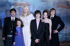 The 2005 World Premiere of The Lion, the Witch and the Wardrobe in London.