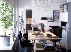 Ideias para um escritório em casa - Decoração e Ideias