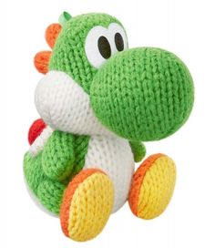 amiibo Nintendo statue figure Yoshi Wooly World Japan Green 3DS WiiU NES NFC New #Nintendo