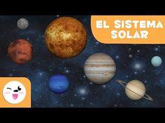El Sistema Solar en 3D para niños - Vídeos educativos - YouTube Learn Espanol, Multiple Intelligences, Child Smile, Primary Education, Educational Videos, Stories For Kids, Solar System, Learn English, Planets