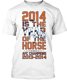 LIMITED-EDITION Denver Broncos Championship T-Shirt! Great Design! 2014 is  the baeb66a38