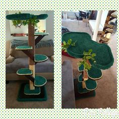 "NEW @KoolKittyToys 66"" Designer Custom Cat Tree with oversized platforms! It will be available tomorrow for auction at the #fancycatsrescueteam Wine and Cheese fundraiser!  Please call or email us if you would like a handmade custom Kool Kitty Toys product made for your furbaby!  Every product is made in the USA by Disabled Veterans!  315-209-5444 or koolkittytoys@koolpets.com  www.koolkittytoys.com  #dog #cat #DC #MD #VA #cats #kitties #kittens #pets #animal #catsofinstagram #catsoftwitter"