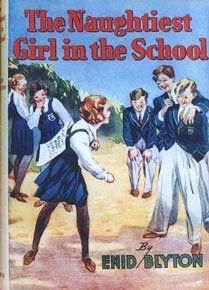 """""""The Naughtiest Girl in the School"""" series by Enid Blyton. Elizabeth Allen plans to be extremely naughty at boarding school so that she will get sent home ... but this school has some home truths to teach Elizabeth. What child wouldn't fantasise about being Elizabeth--daring, clever, fiercely loyal, and lucky enough to attend Whyteleaf School."""