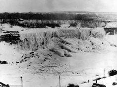 Niagara Falls, Frozen in 1911