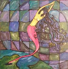 She Rises Above It original painting by PureSusan on Etsy, $225.00