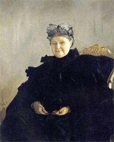 Portrait of Maria Morozova, 1897 Valentin Serov. 2004 Dom Naschokina Art Gallery