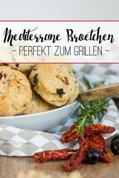 Mediterrane Brötchen perfekt zum Grillen   Italian-Style Buns for the next Barbecue - ÜberSee-Mädchen