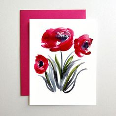 Poppies Card Set - New from Mai Autumn