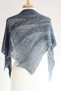 Artesian shawl knitting pattern. I love this shawl