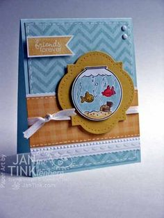 Stampin' Up! Fishin' Around - CC448