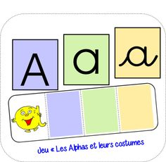 Maternelle MS - GS - (page - Saperlipopette Alphabet Alpha, Alphabet Phonics, File Folder Activities, Name Activities, Montessori Materials, Teaching French, Teacher Hacks, Learn French, Word Work