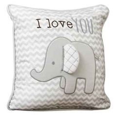 product image for Wendy Bellissimo™ Mix & Match Elephant Chevron Throw Pillow