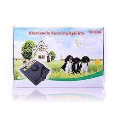 w227 waterproof inground dog fence containment system electric electronic perimeter boundary for stubborn pets