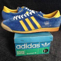 Adidas Montreal 76 - proper rare old skool - luverly 😀 Vintage Sneakers 38c89acf6