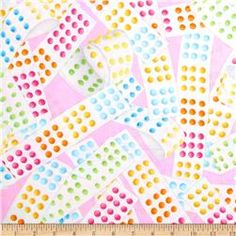 Kanvas Sweet Tooth Candy Dots Pink