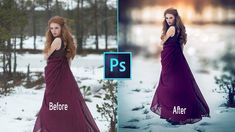 Photoshop cc Tutorial: Fantasy Girl (Sunset Effects)