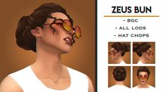 Sims Four, Sims 4 Mm Cc, Sims 1, Sims Stories, Cute Buns, Sims Games, The Sims 4 Download, Sims 4 Cas, Sims 4 Cc Finds