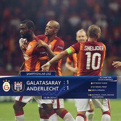 Herzamanki başlangıç... ( Galatasaray 1-1 Anderlecht )