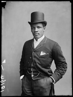 Peter Jackson, the heavyweight boxer known as the Black Prince. London Stereoscopic Company. Courtesy of © Hulton Archive / Getty Images