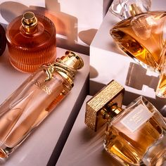 Education on perfume: Heart notes speak for the personality of a fragrance and takes up to 1 hour to develop fully. Perfume Parfum, Perfume Hermes, Perfume Versace, Perfume Bottles, Farmasi Cosmetics, Oriflame Cosmetics, Natural Cosmetics, Perfume Lady Million, Makeup Lips