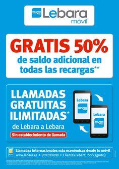 Producto: Tienda Oficial de Lebara en Cádiz Consigue tu tarjeta de prepago y llama de Lebara a Lebara GRATIS