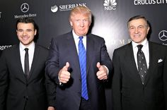 Here's The History Behind The Trumps, The Russian Pop Singer, And His Billionaire Father