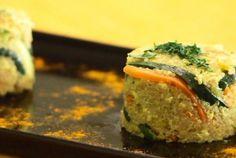 Quinoa con verdure e tofu strapazzato   100% green kitchen