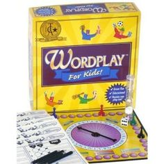 Wordplay For Kids Board Game Game Development Group Family Board Games, Board Games For Kids, Kids Board, Big Kids, Art For Kids, Crafts For Kids, Brain Games, Word Play, Word Games